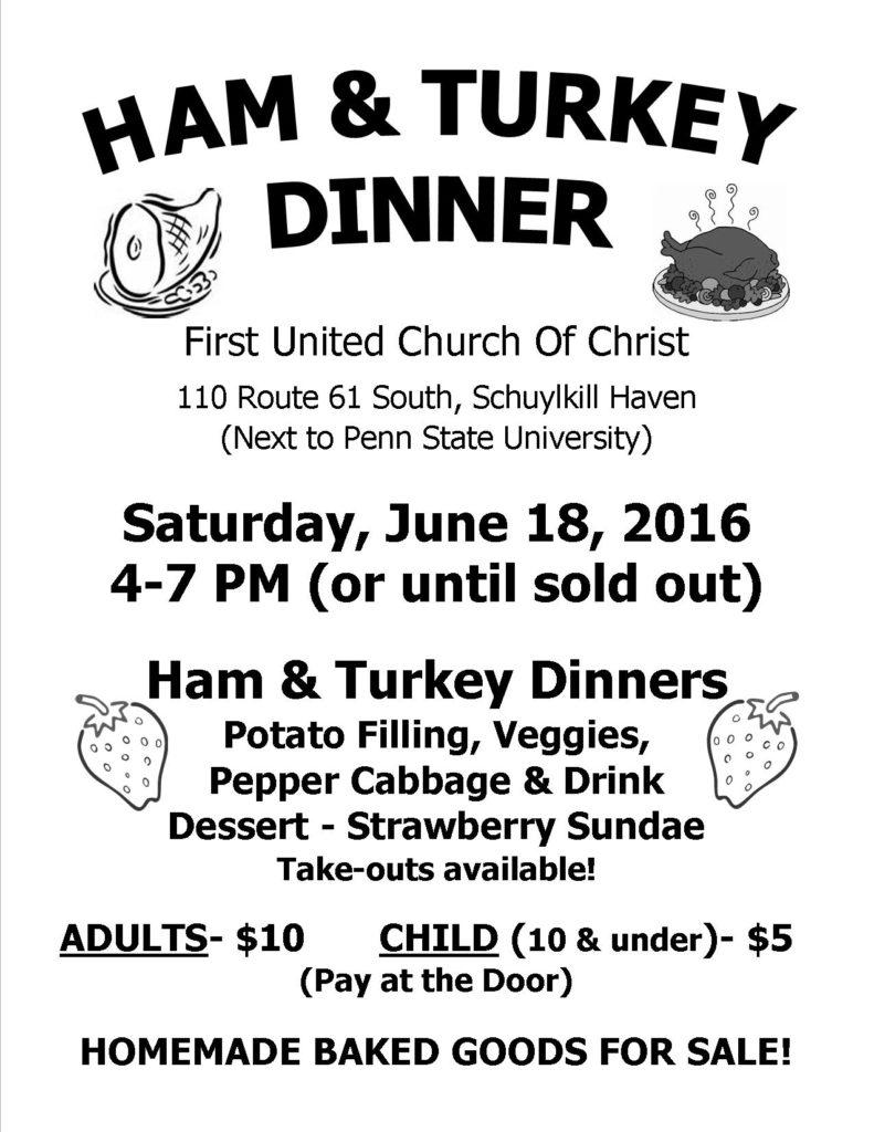 June 2016 Dinner