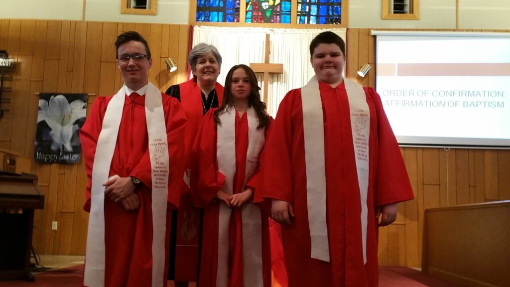 Confirmation 2016 Congratulations & Welcome to  Kyle, Rachel & Mikey!!